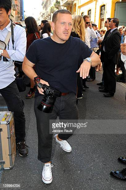 Scott Schuman attends the Fendi Spring/Summer 2012 fashion show as part Milan Womenswear Fashion Week on September 22 2011 in Milan Italy