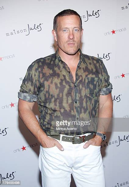 Scott Schuman attends the Maison Jules presentation during MercedesBenz Fashion Week Spring 2014 at C24 Gallery on September 3 2013 in New York City
