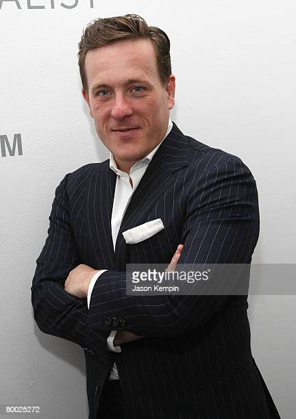 Scott Schuman attends the Scott Schuman 'The Sartorialist' first photography gallery exhibition at Danziger Projects on January 23 2008 in New York...