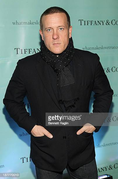 Scott Schuman attends the Tiffany celebration of the launch of True Love in Pictures with the Sartorialist Scott Schuman and Garance Dore at Tiffany...