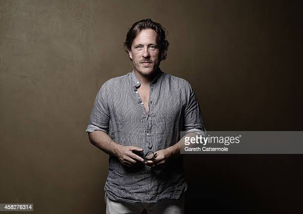 Scott Schuman poses during the Vogue Fashion Dubai Experience on November 1 2014 in Dubai United Arab Emirates