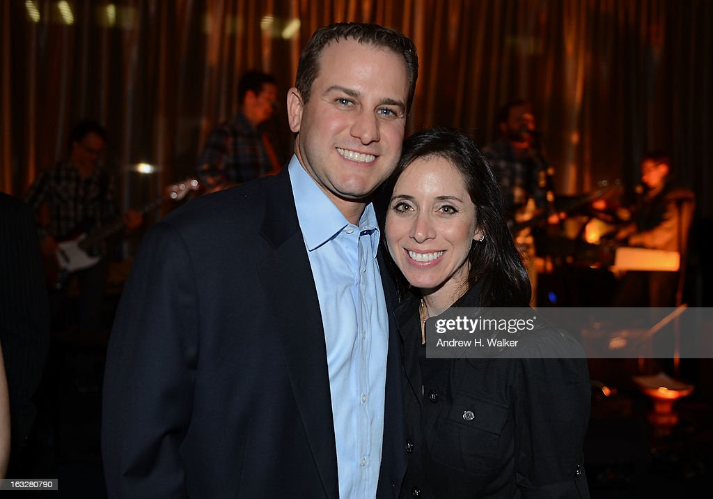 Scott Sherman and his wife attend the City Harvest: A Mid-Winter Escape on March 5, 2013 in New York City.