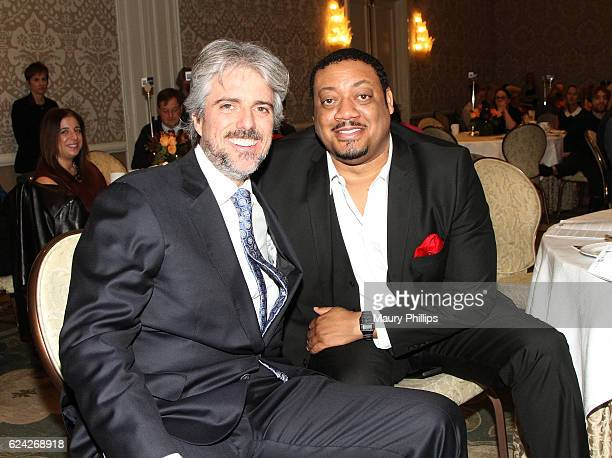 Scott Silveri and Chad Coleman attend the 2016 Media Access Awards at Four Seasons Hotel Los Angeles in Beverly Hills California on November 18 2016