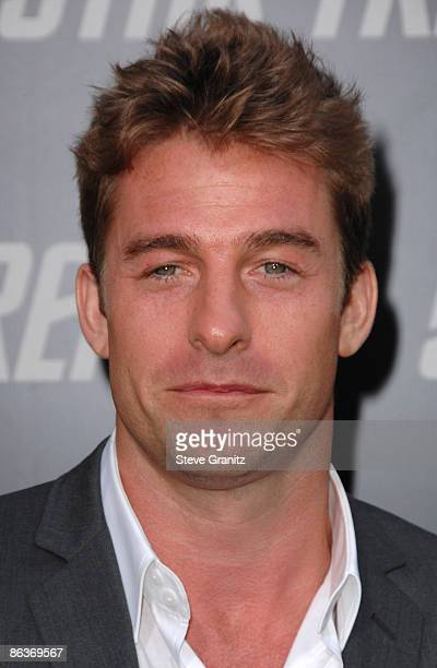 Scott Speedman arrives at the Los Angeles premiere of 'Star Trek' at the Grauman's Chinese Theater on April 30 2009 in Hollywood California