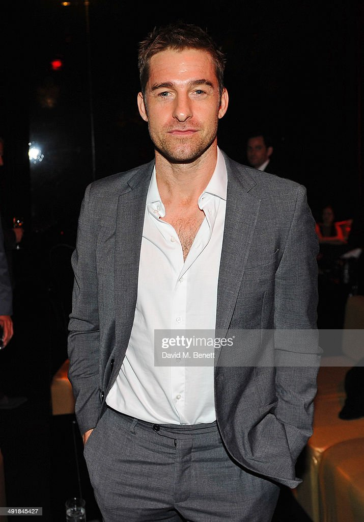Scott Speedman attends Lionsgate's 'The Hunger Games: Mockingjay Part 1' party at a private villa on May 17, 2014 in Cannes, France.