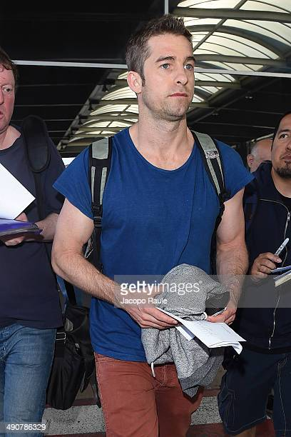 Scott Speedman is seen arriving in Nice for the 67th Annual Cannes Film Festival on May 15 2014 in Nice France