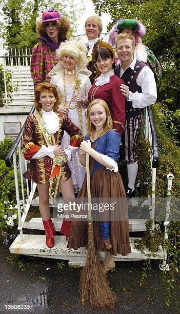 Scott St Martyn Andrew C Wadsworth Royce Mills Liza Goddard Kate Burrell Paul Hendy Bonnie Langford and Rachel Jerram