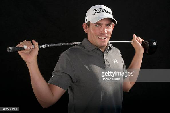 Scott Stallings poses in a studio portrait during the Farmers Insurance Open Pro Am on February 4 2015 at Torrey Pines Golf Course in La Jolla...