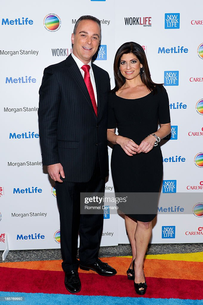 Scott Stanford and Tamsen Fadal attend the 11th Annual Work Life Matters gala at Club 101 on October 24, 2013 in New York City.