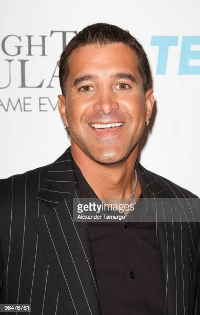 Scott Stapp attends the 4th annual Saturday Night Spectacular celebration at The Bank of America Tower on February 6 2010 in Miami Florida