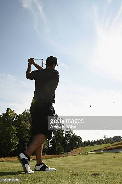 Scott Stapp attends the TJ Martell Foundation New York Golf Classic on July 20 2015 in CrotononHudson City