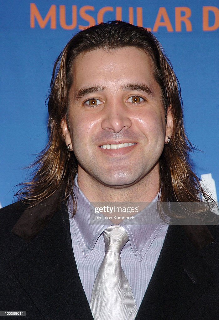 <a gi-track='captionPersonalityLinkClicked' href=/galleries/search?phrase=Scott+Stapp&family=editorial&specificpeople=218051 ng-click='$event.stopPropagation()'>Scott Stapp</a> during 8th Annual Muscular Dystrophy Association's Muscle Team 2005 Gala at Chelsea Piers in New York City, New York, United States.