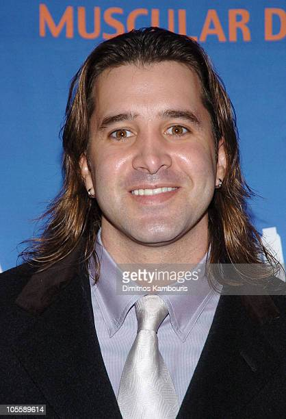 Scott Stapp during 8th Annual Muscular Dystrophy Association's Muscle Team 2005 Gala at Chelsea Piers in New York City New York United States