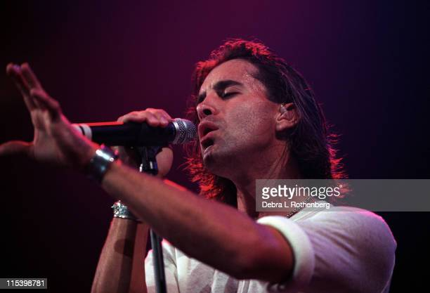Scott Stapp during Creed in Concert at Madison Square Garden at Madison Square Garden in New York City New York United States