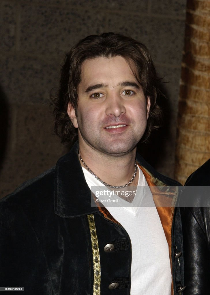 <a gi-track='captionPersonalityLinkClicked' href=/galleries/search?phrase=Scott+Stapp&family=editorial&specificpeople=218051 ng-click='$event.stopPropagation()'>Scott Stapp</a> of Creed during 2002 Billboard Music Awards - Arrivals at MGM Grand Arena in Las Vegas, Nevada, United States.
