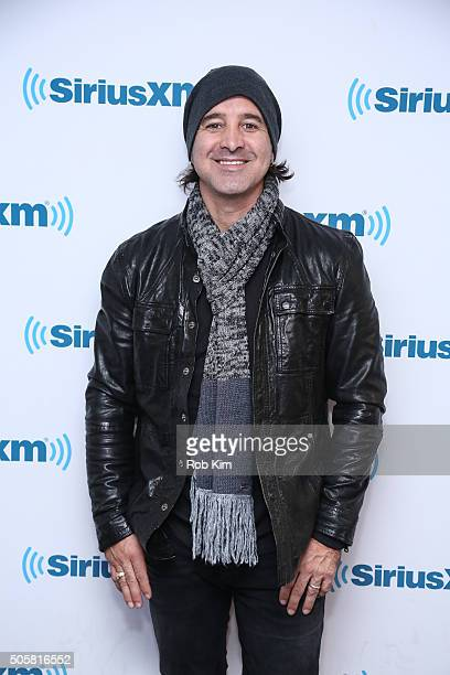 Scott Stapp visits SiriusXM Studios on January 20 2016 in New York City