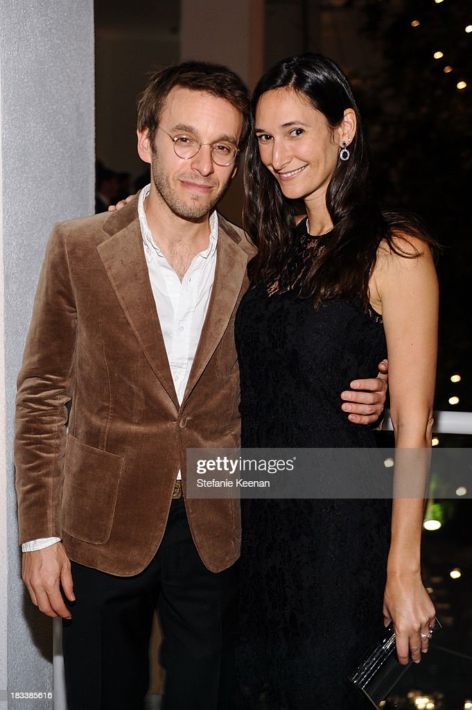 Scott Sternberg and Bettina Korek attend Hammer Museum 11th Annual Gala In The Garden With Generous Support From Bottega Veneta, October 5, 2013, Los Angeles, CA at Hammer Museum on October 5, 2013 in Westwood, California.