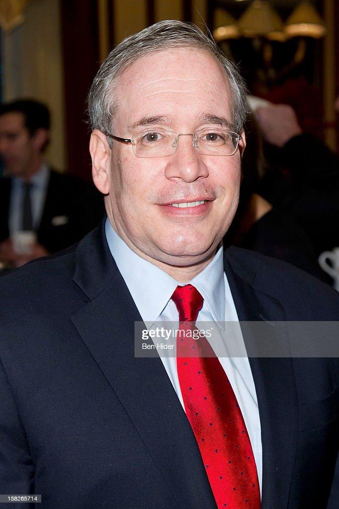 Scott Stringer, Manhattan Borough President attends Loews Regency Hotel Power Breakfast Event at the Loews Regency Hotel on December 12, 2012 in New York City.