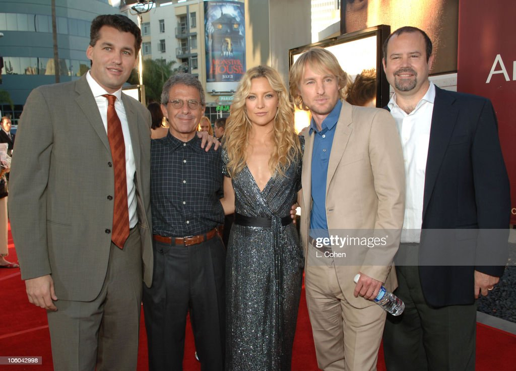 Scott Stuber porducer Ron Meyer president chief operating officer of Universal Studios Kate Hudson Owen Wilson and Marc Shmuger chairman Universal...