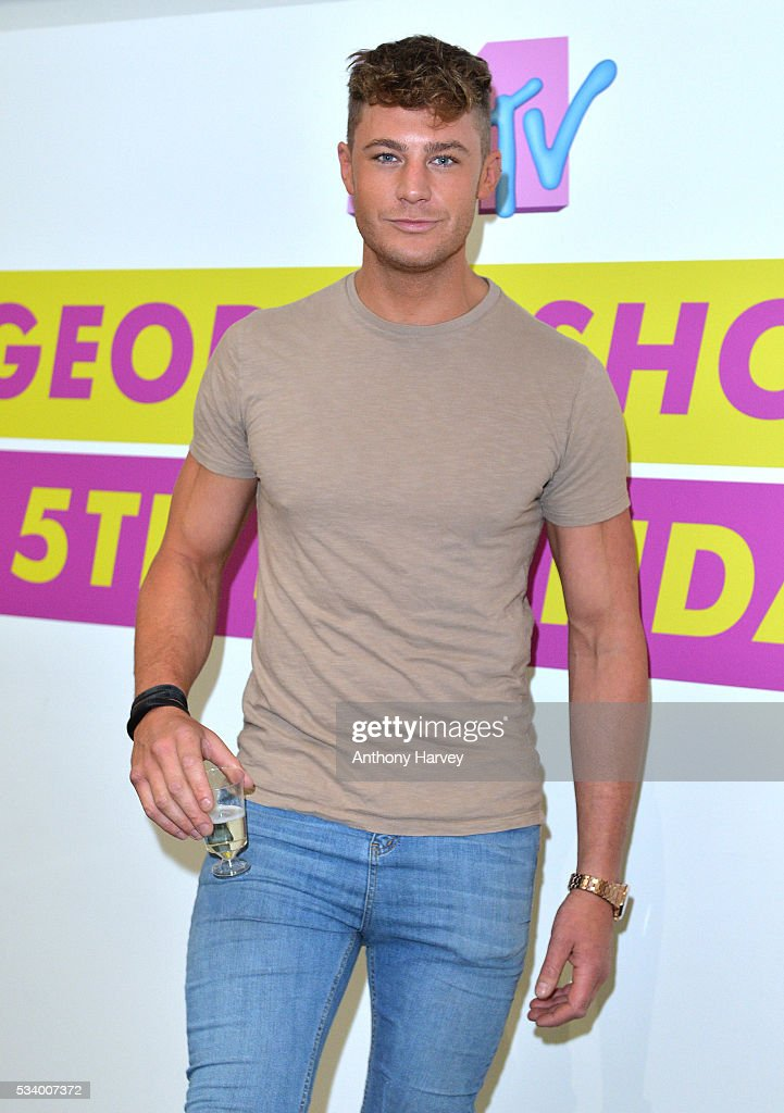 Scott Timlin of Geordie Shore celebrate their fifth birthday at MTV London on May 24, 2016 in London, England.