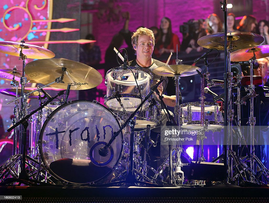 Scott Underwood of Train performs during the VH1 Best Super Bowl Concert Ever at Sugar Mill on February 1, 2013 in New Orleans, Louisiana.