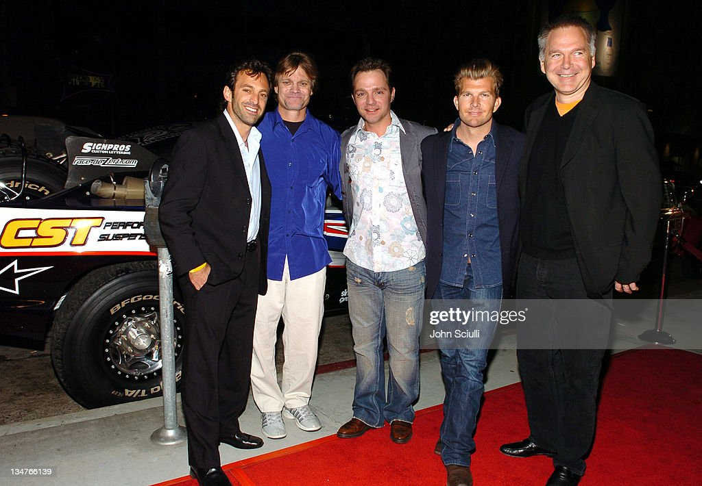 Scott Waugh, producer, <a gi-track='captionPersonalityLinkClicked' href=/galleries/search?phrase=Dana+Brown&family=editorial&specificpeople=234873 ng-click='$event.stopPropagation()'>Dana Brown</a>, director, Rich Wilson, director Mouse McCoy and <a gi-track='captionPersonalityLinkClicked' href=/galleries/search?phrase=Jonathan+Sehring&family=editorial&specificpeople=215098 ng-click='$event.stopPropagation()'>Jonathan Sehring</a>, president of IFC Films
