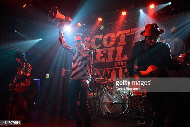 Scott Weiland and the Wildabouts perform at the Double Door on February 27 2015 in Chicago Illinois