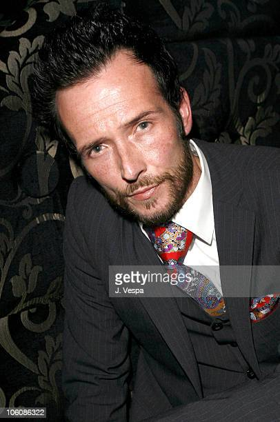 Scott Weiland during Flaunt Magazine Presents Nefarious Fine Jewelry Hosted by Velvet Revolver at Black Steel Restaurant in Hollywood California...