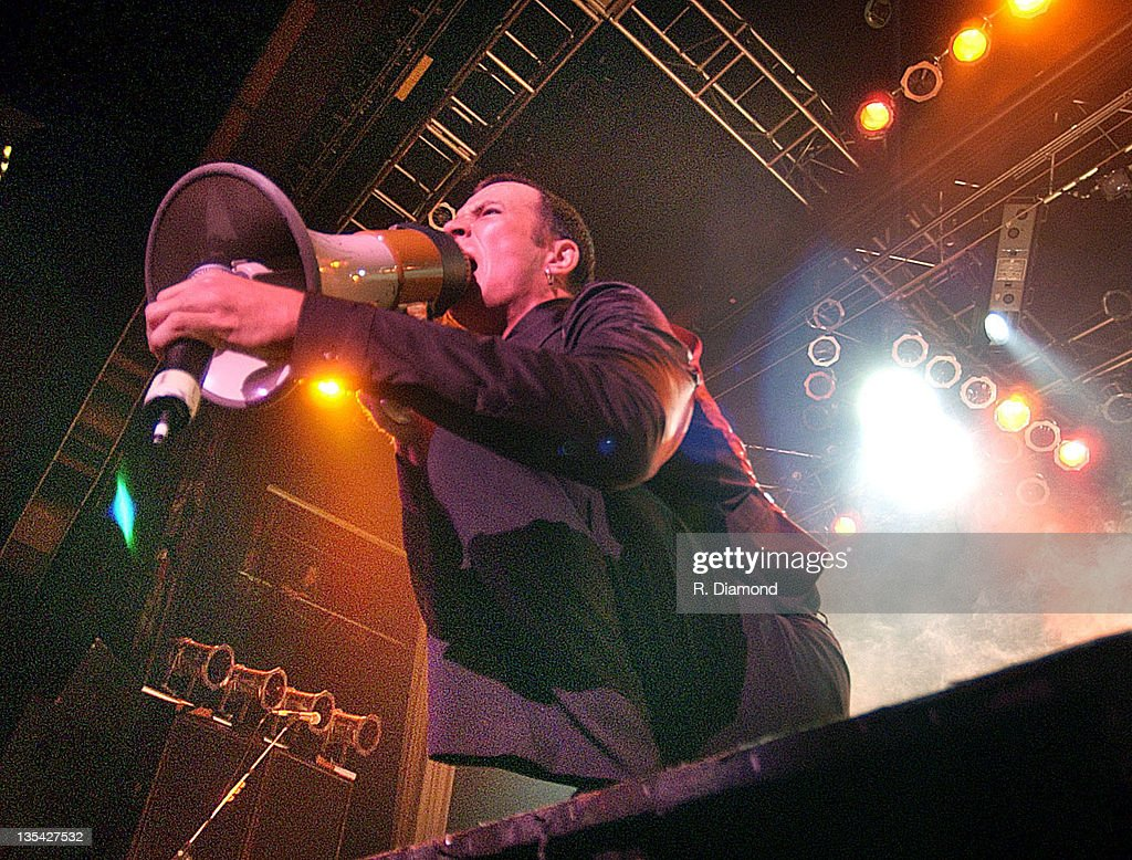 Scott Weiland of Stone Temple Pilots in concert at The House of Blues in Myrtle Beach South Carolina December 30 2001