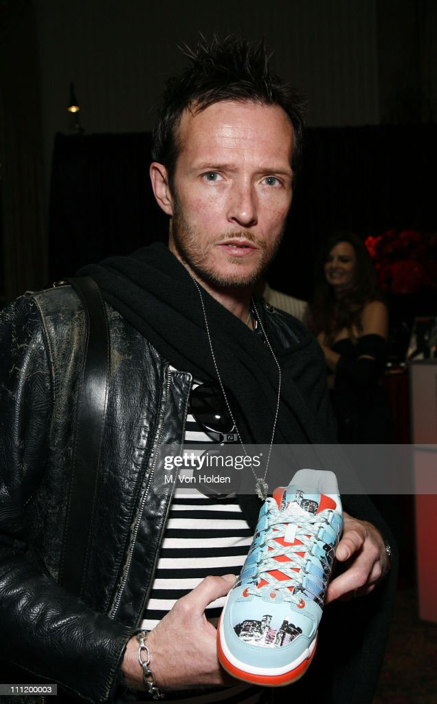 Scott Weiland of Velvet Revolver during 22nd Annual Rock and Roll Hall of Fame Induction Ceremony - On 3 Productions Gift Suite at Waldorf-Astoria in New York City, New York, United States.