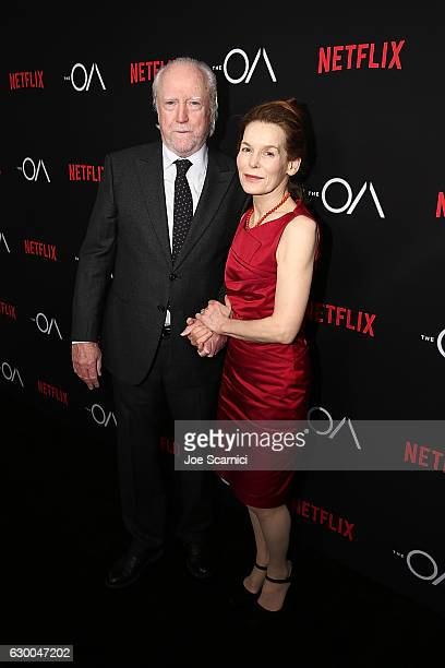 Scott Wilson and Alice Krige arrive at the Premiere of Netflix's 'The OA' at the Vista Theatre on December 15 2016 in Los Angeles California