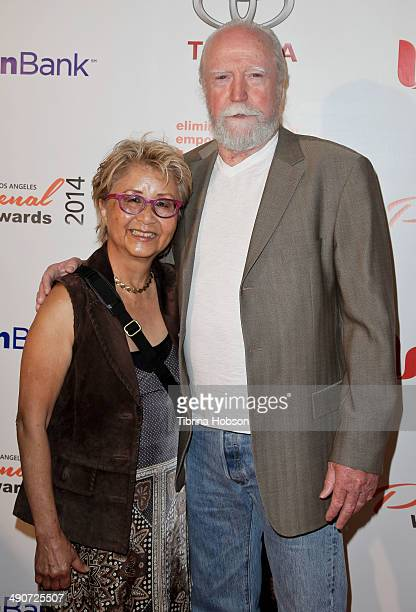 Scott Wilson and his wife Heavenly Koh Wilson attend the YWCA greater Los Angeles Phenomenal Woman of the Year award ceremony at Omni Los Angeles...