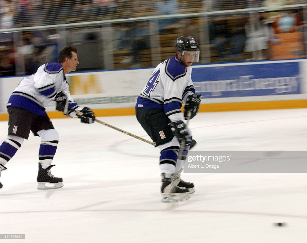 Scott Wolf during Starlight Starbright Children's Foundations 3rd Annual 'Stars with Sticks' Game at Toyota Sports Center in El Segundo CA United...