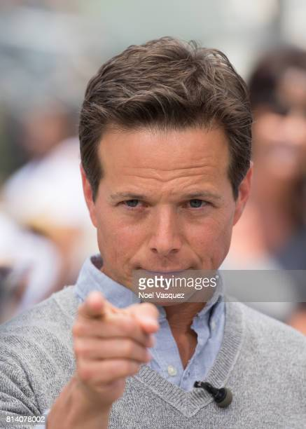 Scott Wolf visits 'Extra' at Universal Studios Hollywood on July 13 2017 in Universal City California