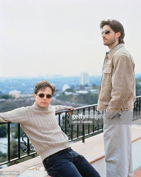 Scott Wolf with Matthew Fox