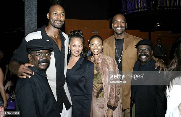 Scottie of the Whispers Karl Malone and wife Kim Russell husband Brian Russell and Walter of the Whispers