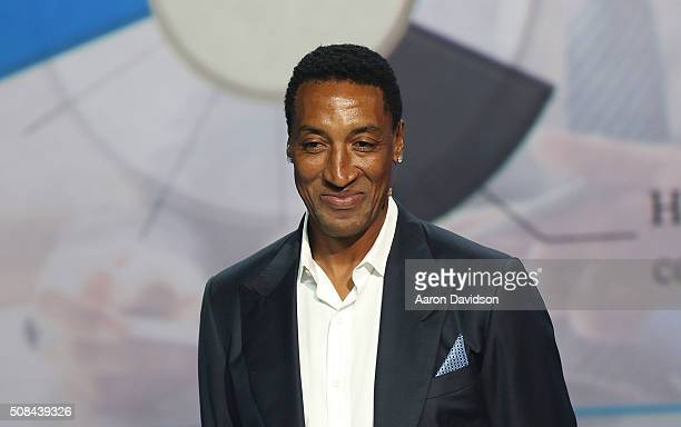 Scottie Pippen Attends Market America Conference 2016 at American Airlines Arena on February 4 2016 in Miami Florida