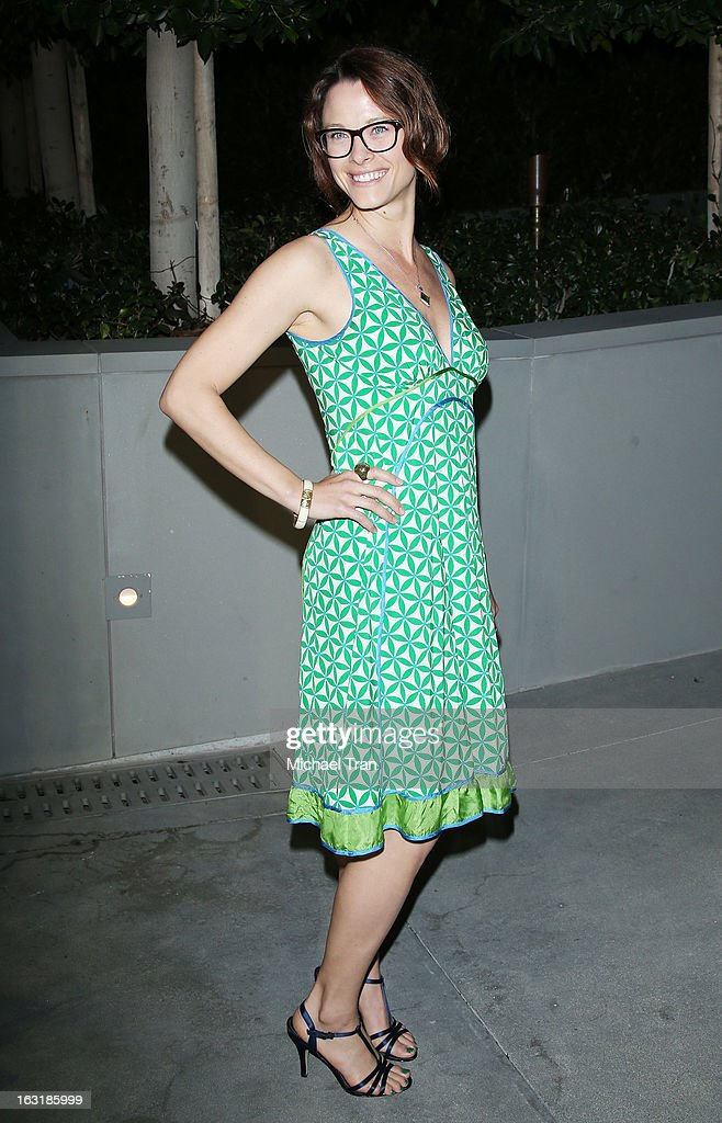 Scottie Thompson arrives at the 2nd annual an Evening of Environmental Excellence Gala held at a private residence on March 5, 2013 in Beverly Hills, California.