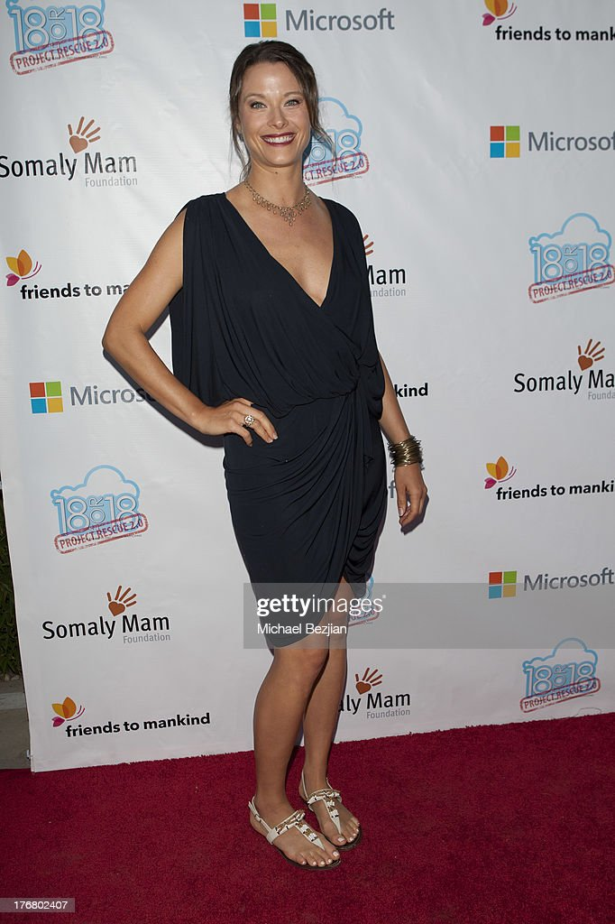 Summer Soiree Honoring Somaly Mam Foundation on August 18, 2013 in Venice, California.