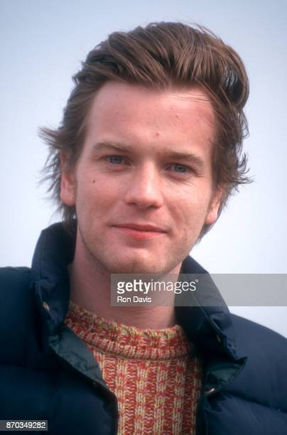 Scottish actor and singer Ewan McGregor poses for a portrait during a photocall on the Majestic Beach Pier to promote his new movie 'Nora' in which...