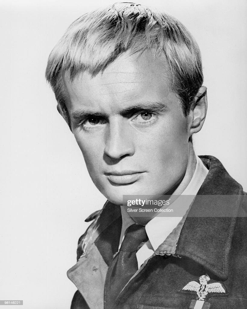 Scottish actor David McCallum as RAF Squadron Leader Quint Munroe in the film 'Mosquito Squadron', 1969.