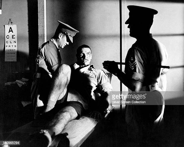 Scottish actor Sean Connery as Joe Roberts in 'The Hill' directed by Sidney Lumet 1965