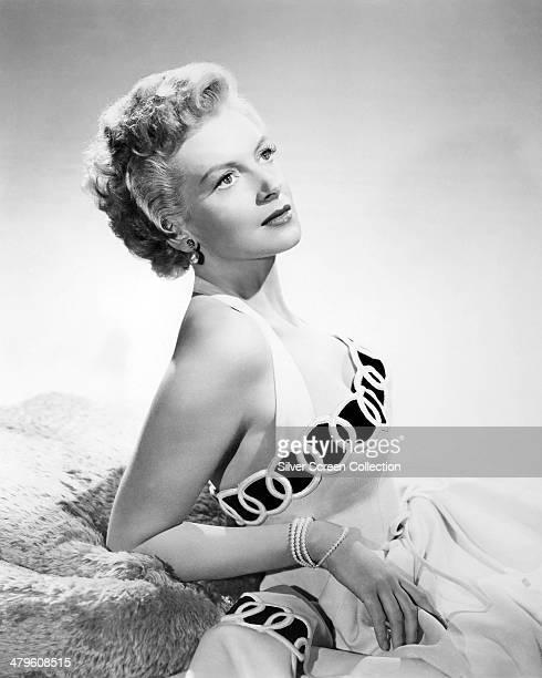 Scottish actress Deborah Kerr circa 1953