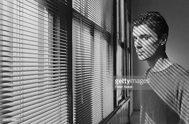 Scottish American musician and 'Talking Heads' founding member David Byrne August 1982