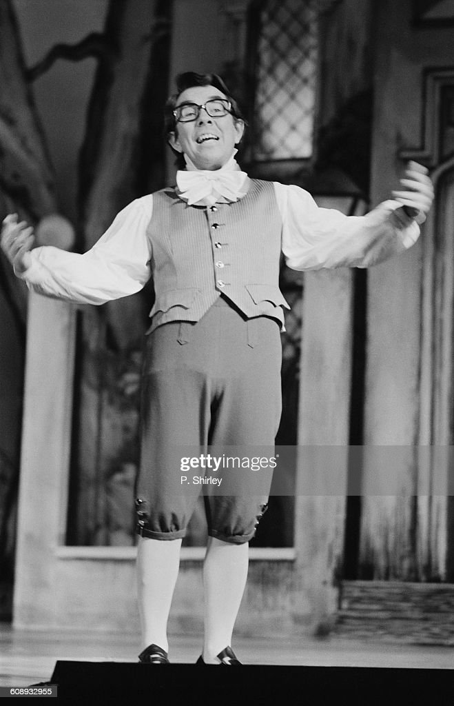 Scottish comedian and actor Ronnie Corbett stars in the pantomime 'Cinderella' UK 19th December 1971