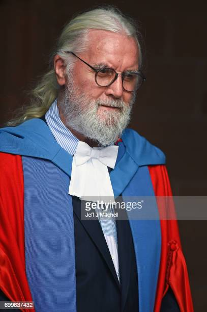 Scottish comedian and actor Sir Billy Connolly joined graduating students from the University of Strathclyde at the Barony Hall where he received an...