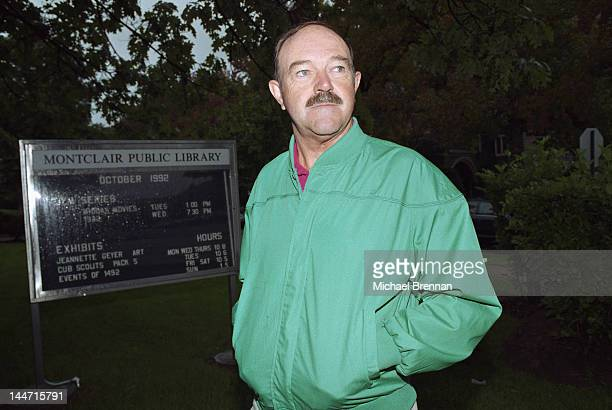 Scottish drummer Andy White outside the Montclair Public Library New Jersey October 1992 He replaced Ringo Starr as the Beatles' drummer on their...