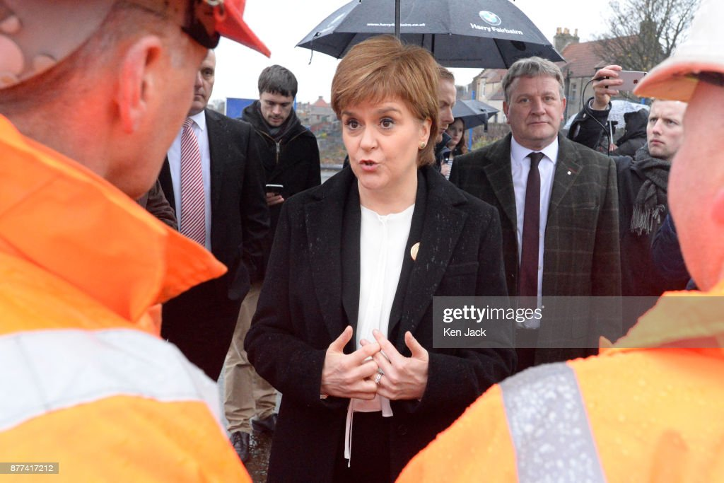 Nicola Sturgeon Visits BiFab Engineering Company After Government Rescue Deal