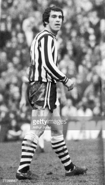 Scottish footballer Bobby Moncur of Newcastle United FC 31st December 1973