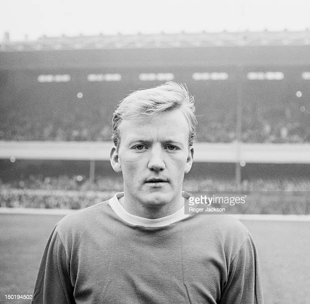 Scottish footballer Jimmy Gabriel of Everton FC 6th November 1964